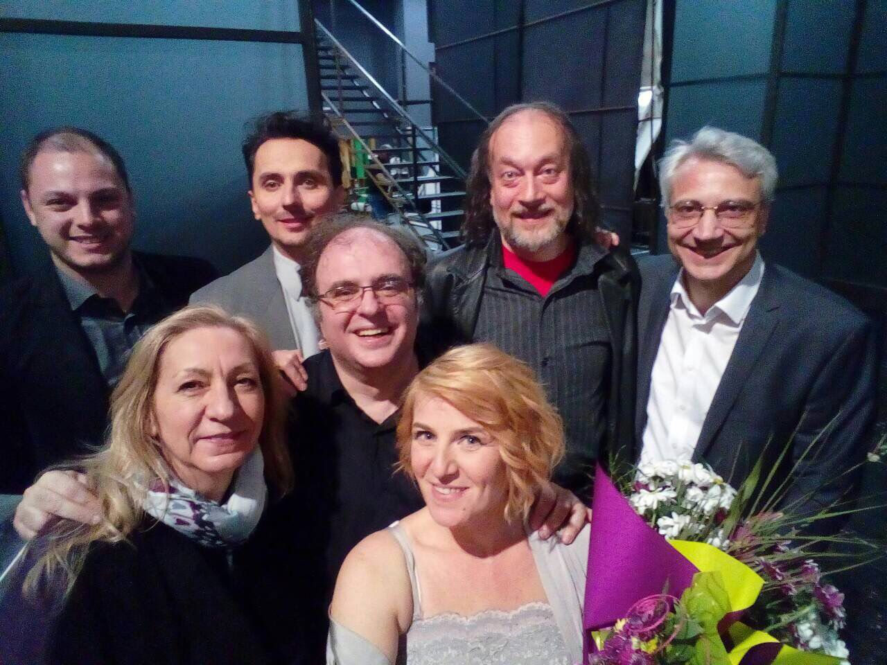 After Lady Macbeth of Shostakovich at State Opera - Plovdiv.