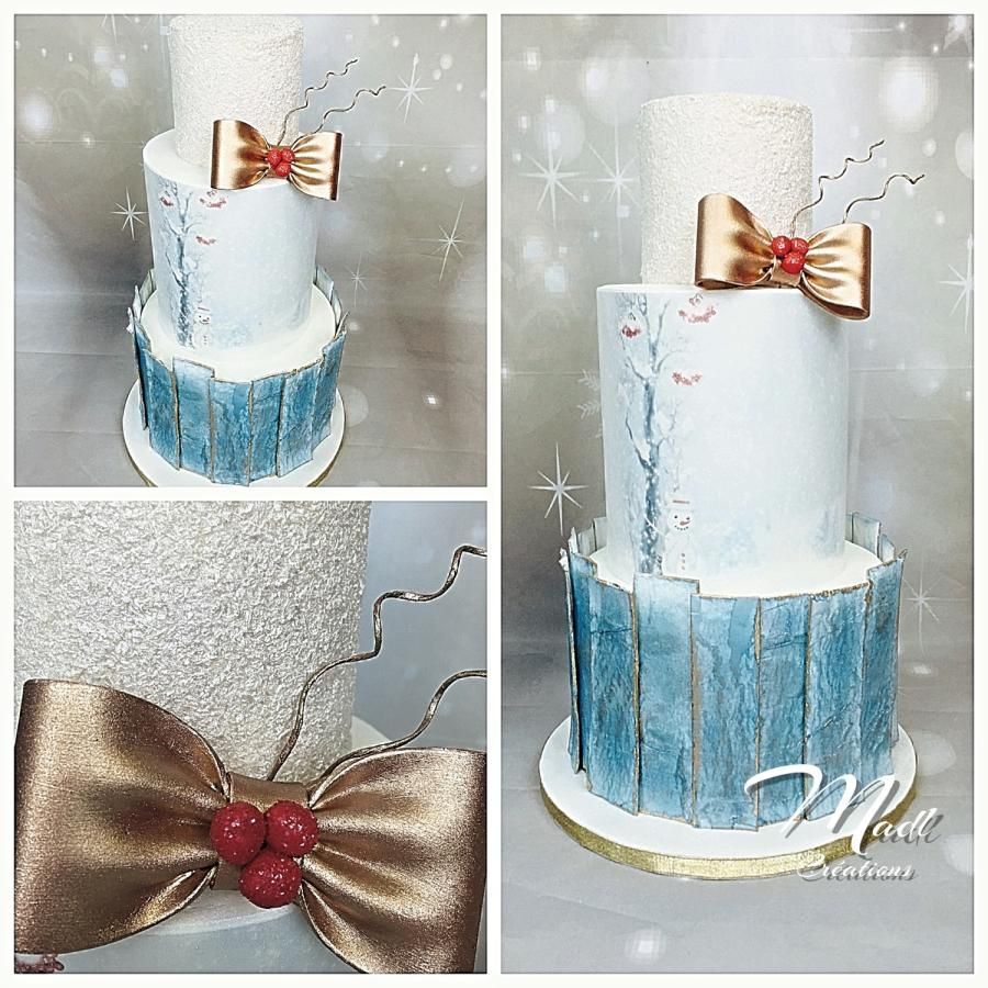 Christmas cake by madlcreations