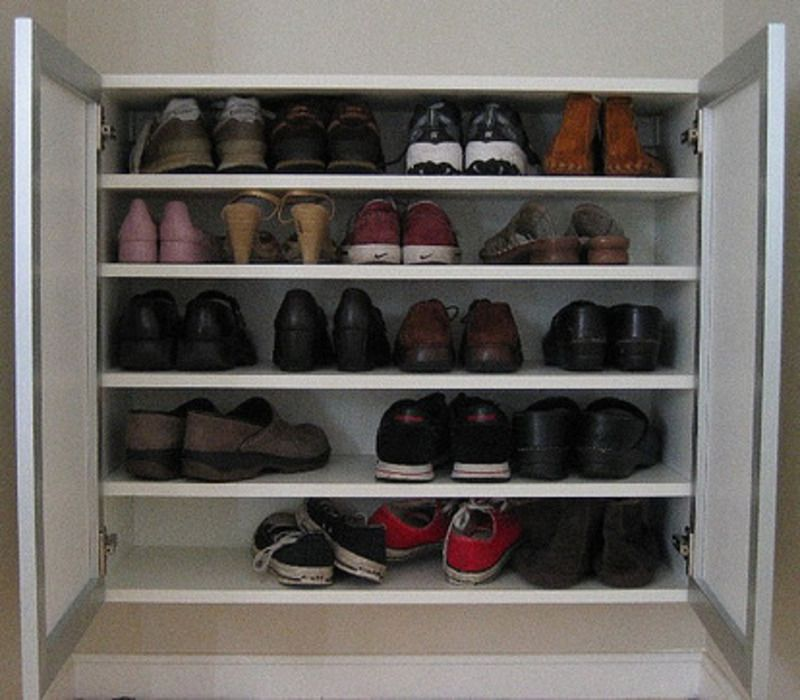 Shoe Organization Hacks: Ikea Hacks: Shoe Storage Solutions » Ikea Fans / Design