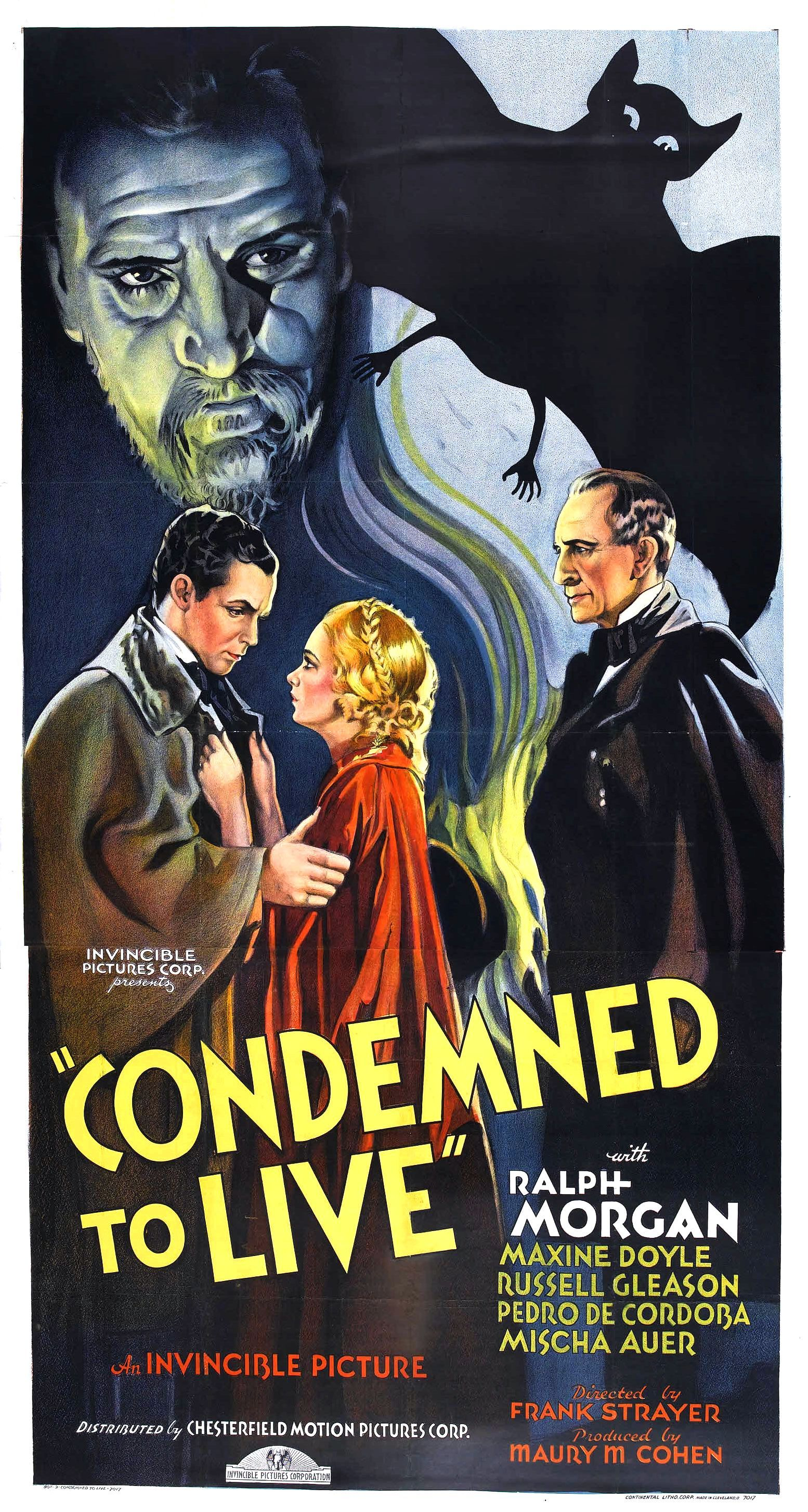 Condemned To Live 1935 Old Film Posters Old Movie Posters Movie Posters