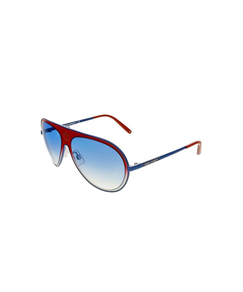 8d0900af554f DSQUARED2 Dq0104/S 88W Blue Aviator'. #dsquared2 #sunglasses ...
