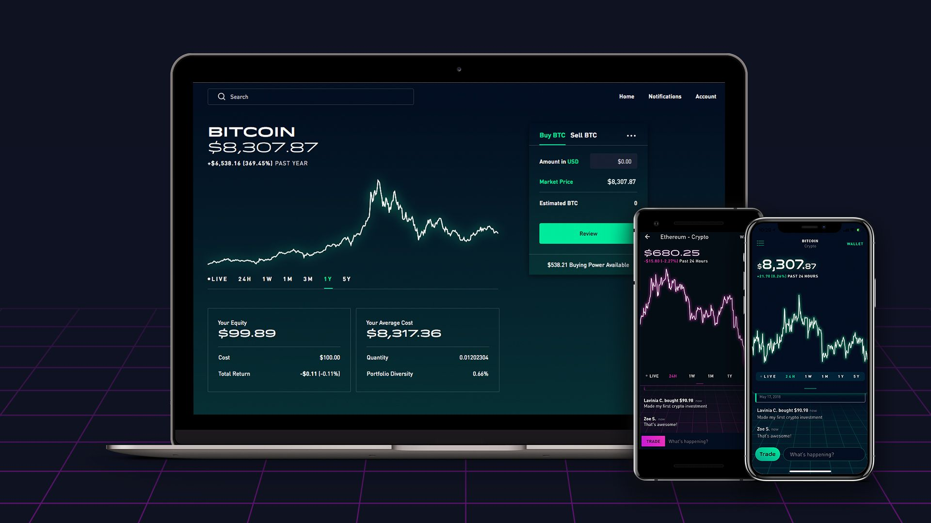 what cryptocurrency is available on robinhood