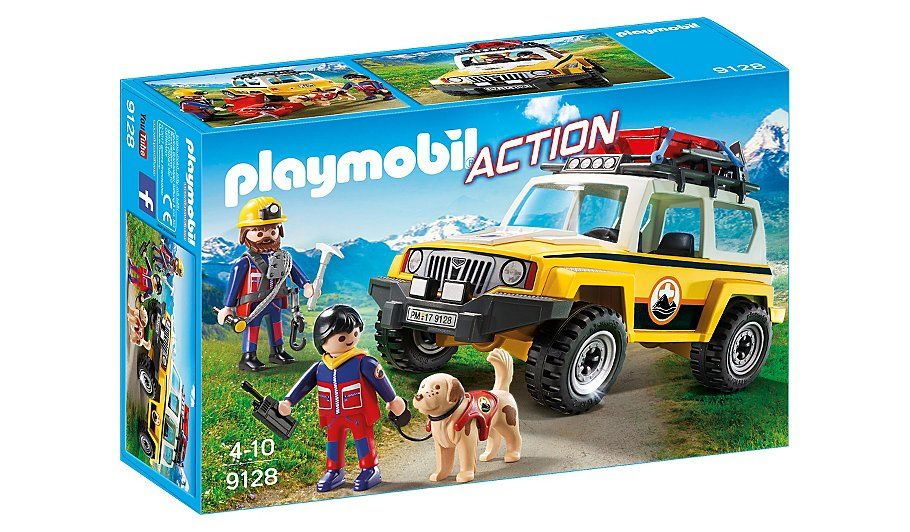 Playmobil mountain rescue truck 9128 toys character