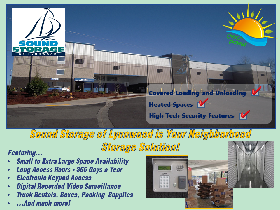 Beau Sound Storage Of Lynnwood Is Your Local And Solar Storage Provider, Feel  Good About Where