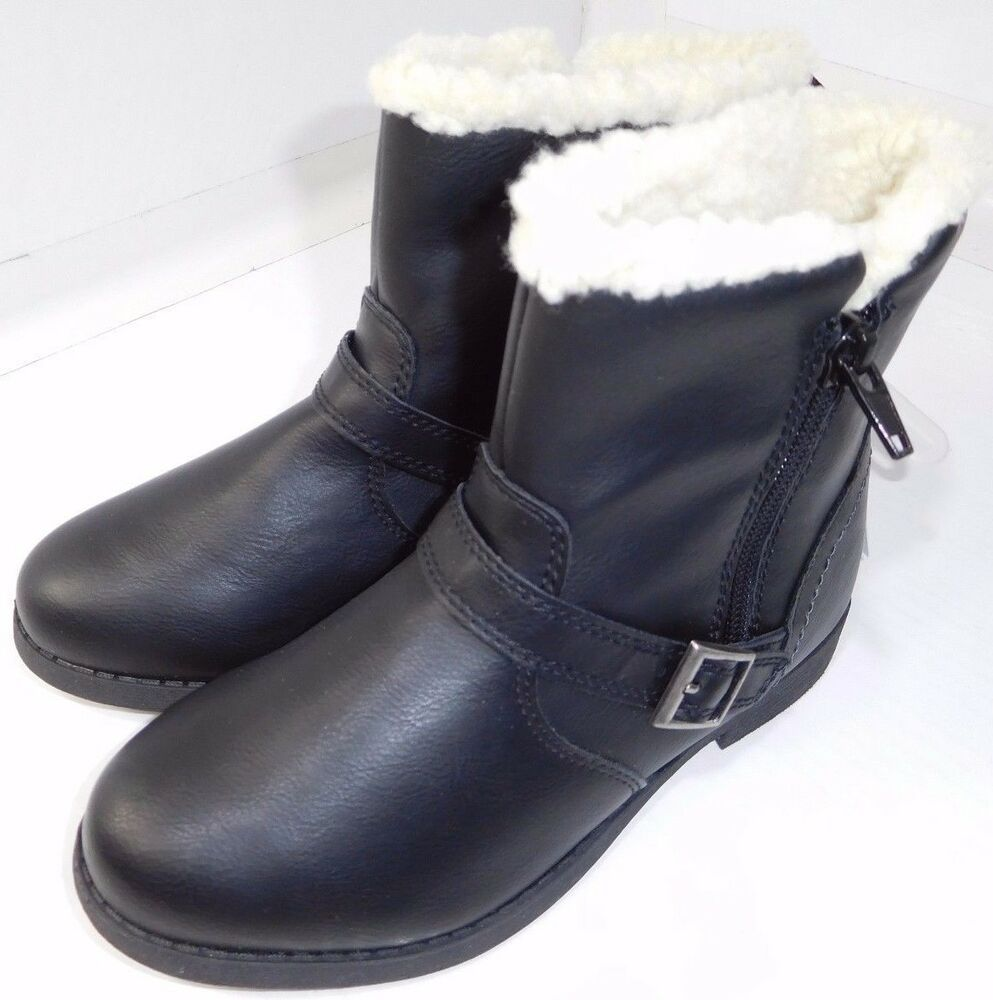 82656e1eefd00 Youth Girls Sonoma Faux Fur Pull On Winter Boots US 5M Black Sntugowarblack  NEW #Sonoma #Boots | Womens shoes | Winter Boots, Boots, Ugg boots