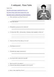 English worksheets a webquest rosa parks happy rosa parks day english worksheets a webquest rosa parks publicscrutiny Image collections