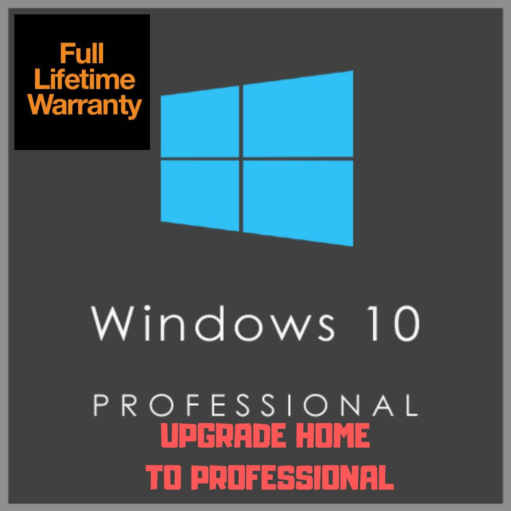Upgrade Windows 10 Home To Windows 10 Pro Windows 10 Pro Activation Key Microsoft With Images Windows 10 Windows Used Computers