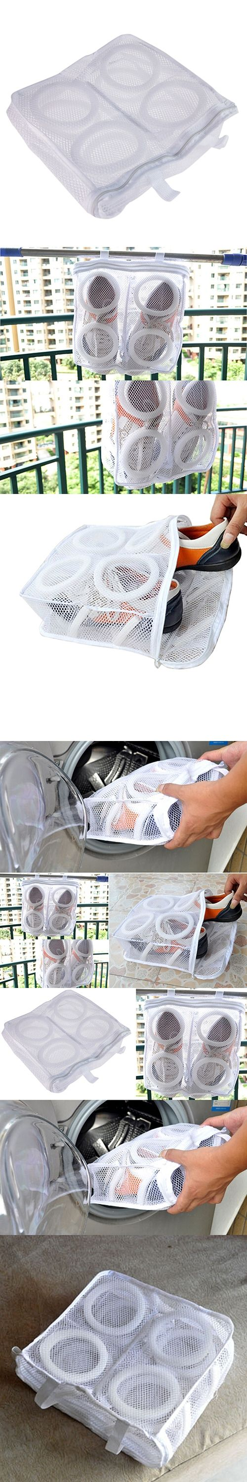 Sneaker Tennis Boots Sports Shoes Mesh Laundry Washing Bag Household Essentials Storage Holders & Racks