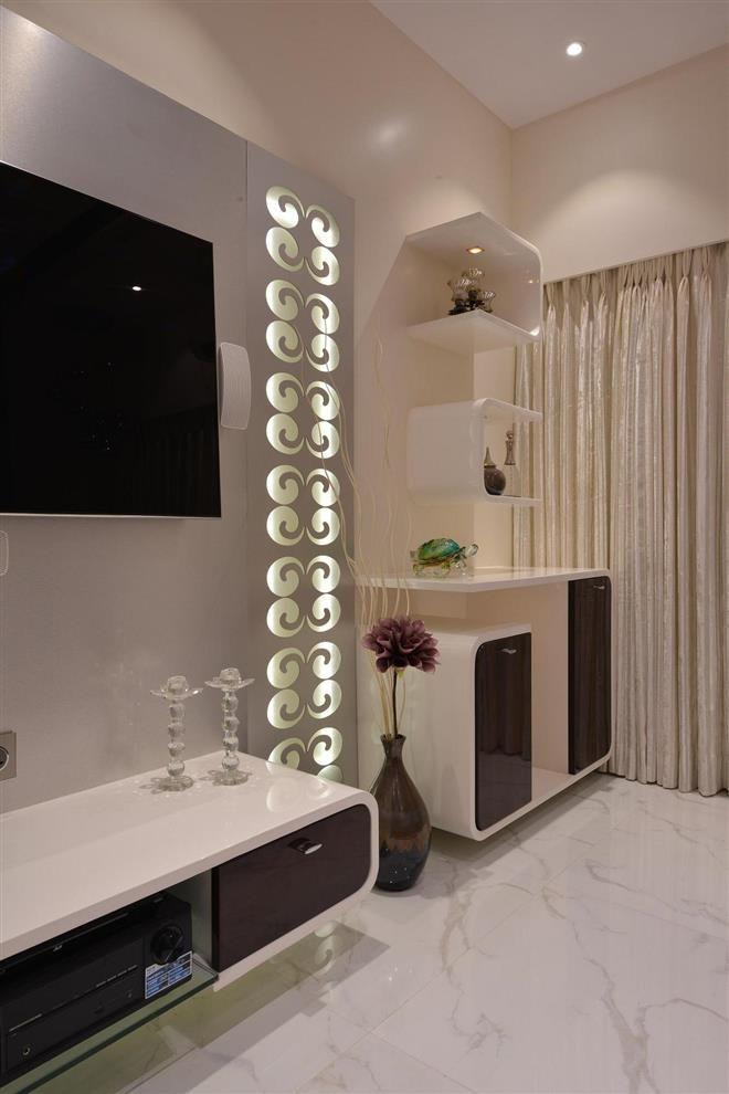 Living Room Interior Designs Tv Unit: Milind Pai - Mumbai , Maharashtra , India