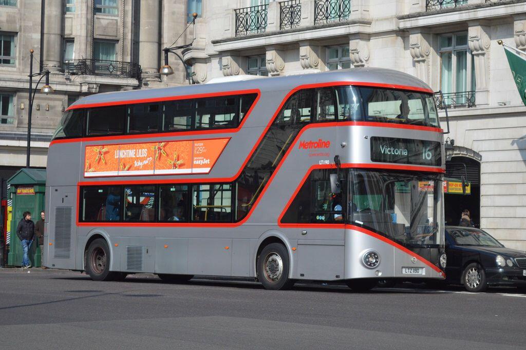 Lt 190 Ltz 1190 Metroline London New Routemaster New Routemaster Routemaster