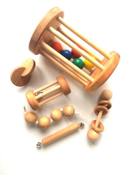 Montessori baby set of 6 toys #babysets (With images ...