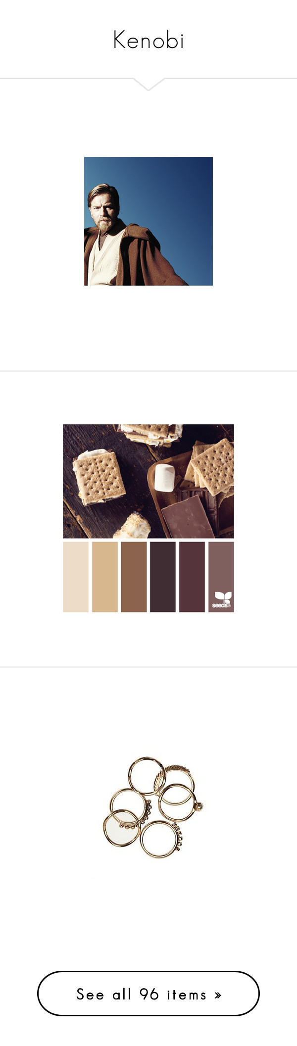 """""""Kenobi"""" by ithiliel ❤ liked on Polyvore featuring star wars, design seeds, backgrounds, colors, colours, pictures, jewelry, rings, fillers and accessories"""