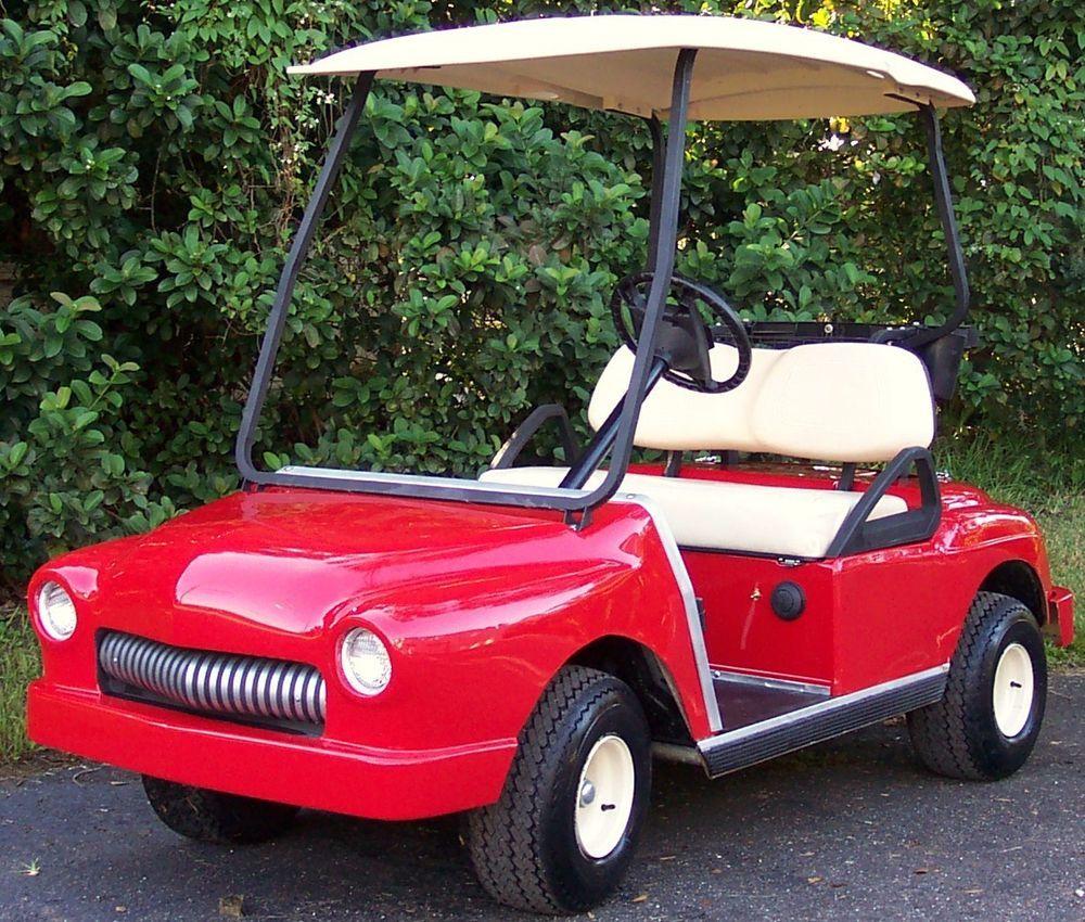Custom golf cart body kit front only club car custom