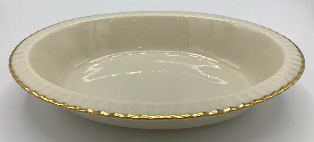 Lenox Hayworth Gold Banded Ivory China Salad Plate