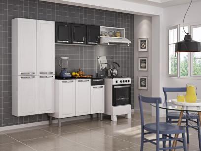 Cozinha Compacta Itatiaia Rose 7 Portas Aco Com As Melhores