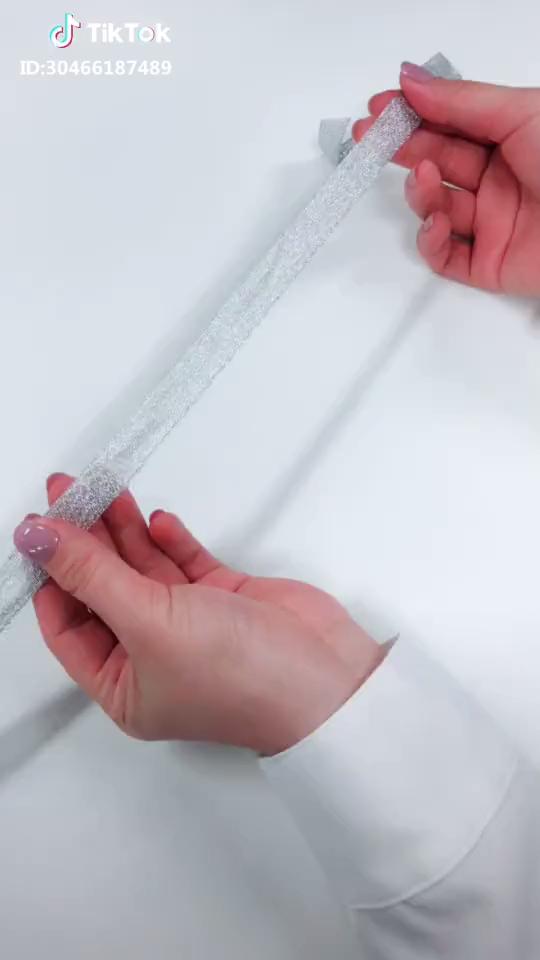 簡単キレイなリボンの作り方