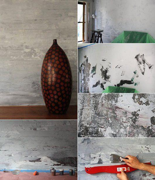 Wand-Streichen-Ideen Und Techniken Für Moderne