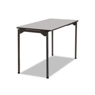 Iceberg Maxx Legroom Folding Table Ice65807 Wood