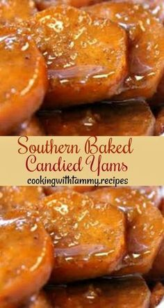 Southern Baked Candied Yams - Cooking With Tammy .Recipes #candiedyams