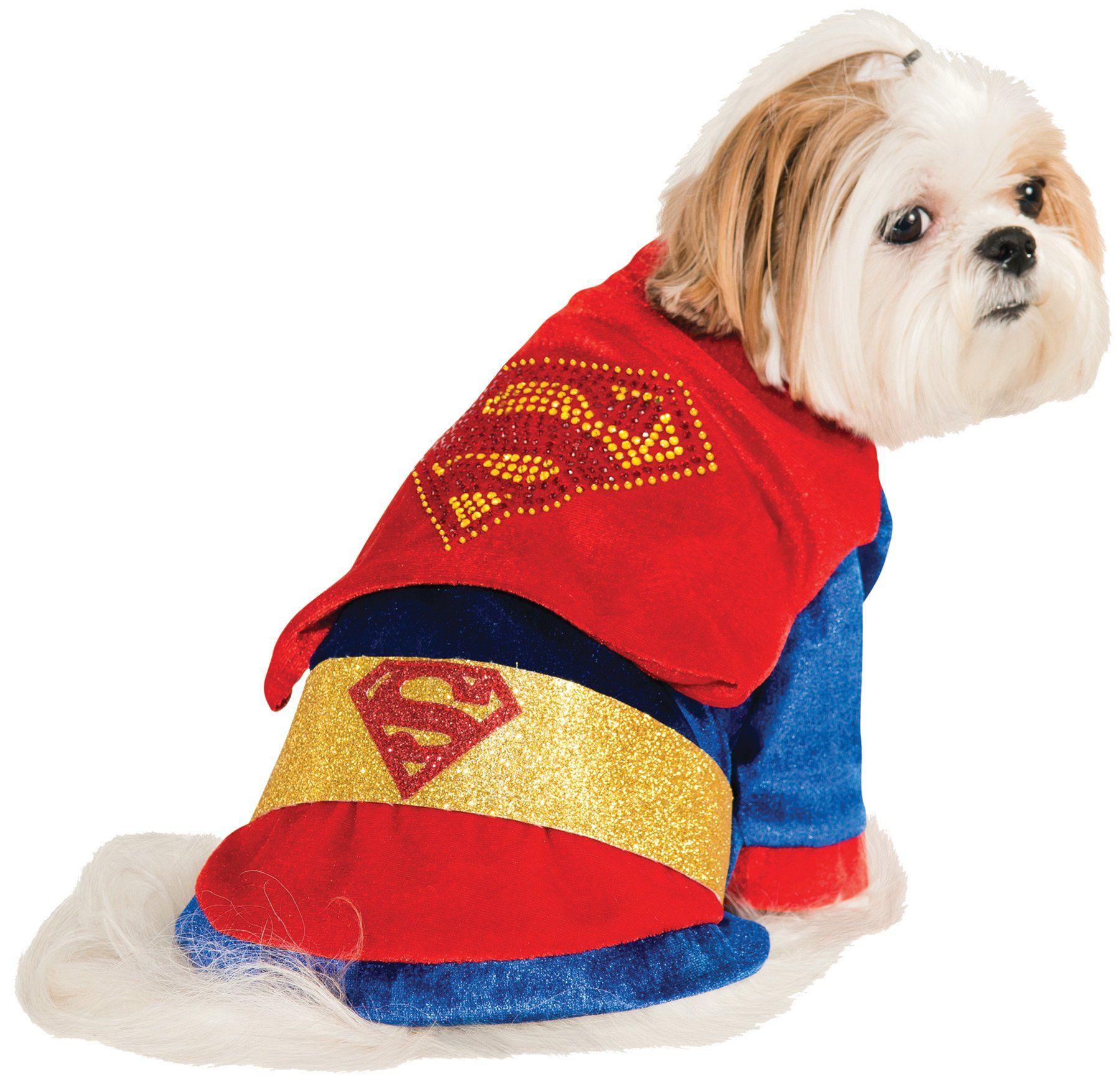 Cat Dog Costume Superman Sm In 2019 Puppy Costume Pet
