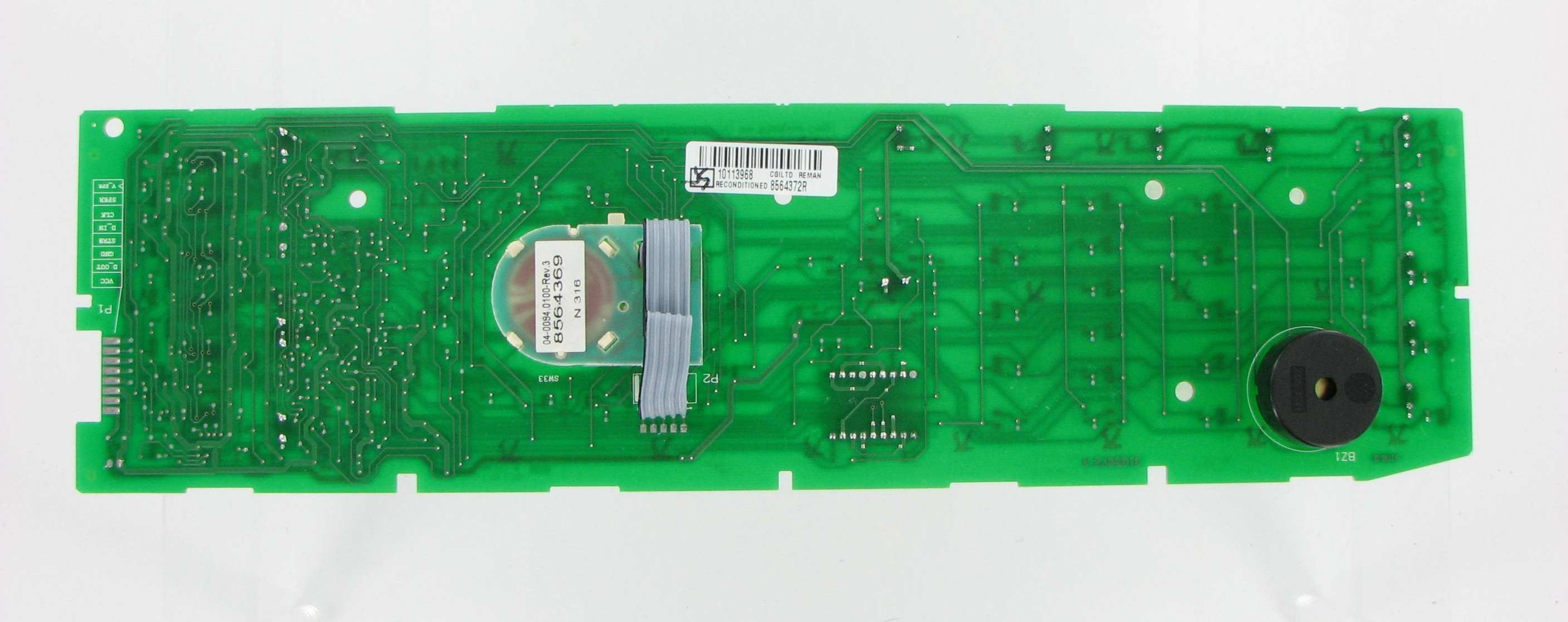 Whirlpool laundry washer control board repair service