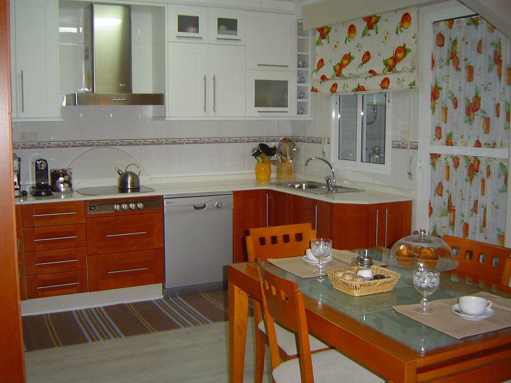 Modelos de muebles de cocina de melamina buscar con for Ver cortinas de cocina