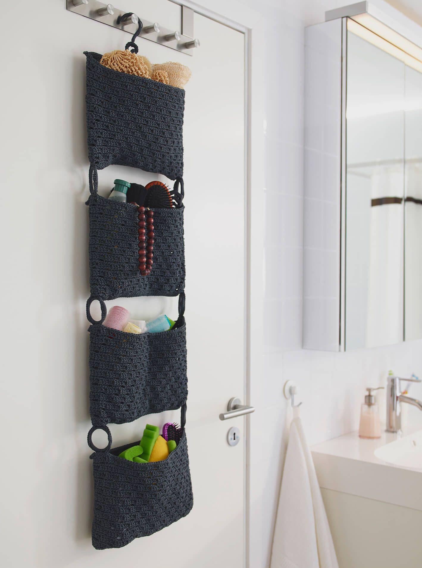 Long Door Hanging Bathroom Storage