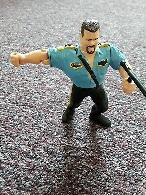 Big Boss Man With Night Stick Wwf Hasbro Wrestling Vintage