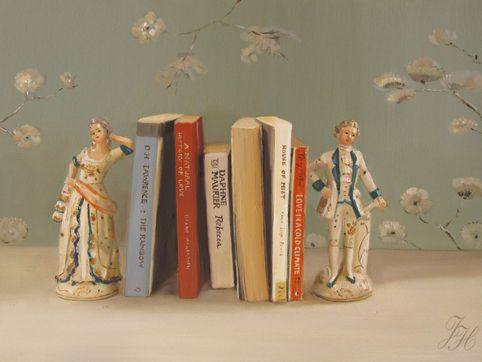 Janet Hill - Still Life with Books
