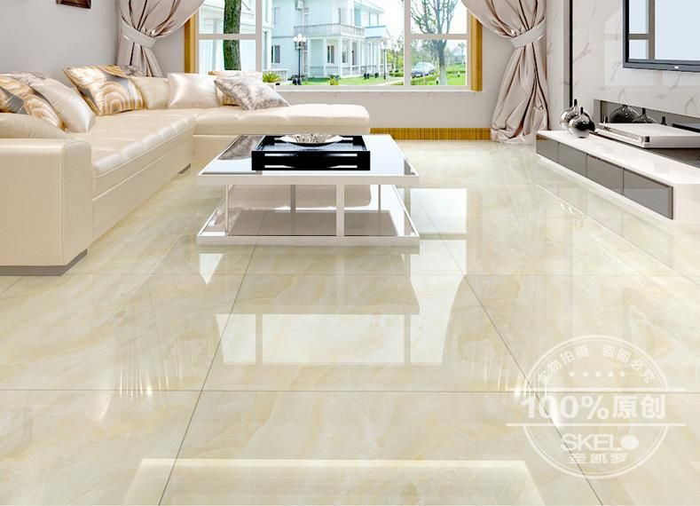 2015 New Glazed Tiles 800x800 Imitation Marble Floor Brick Anti