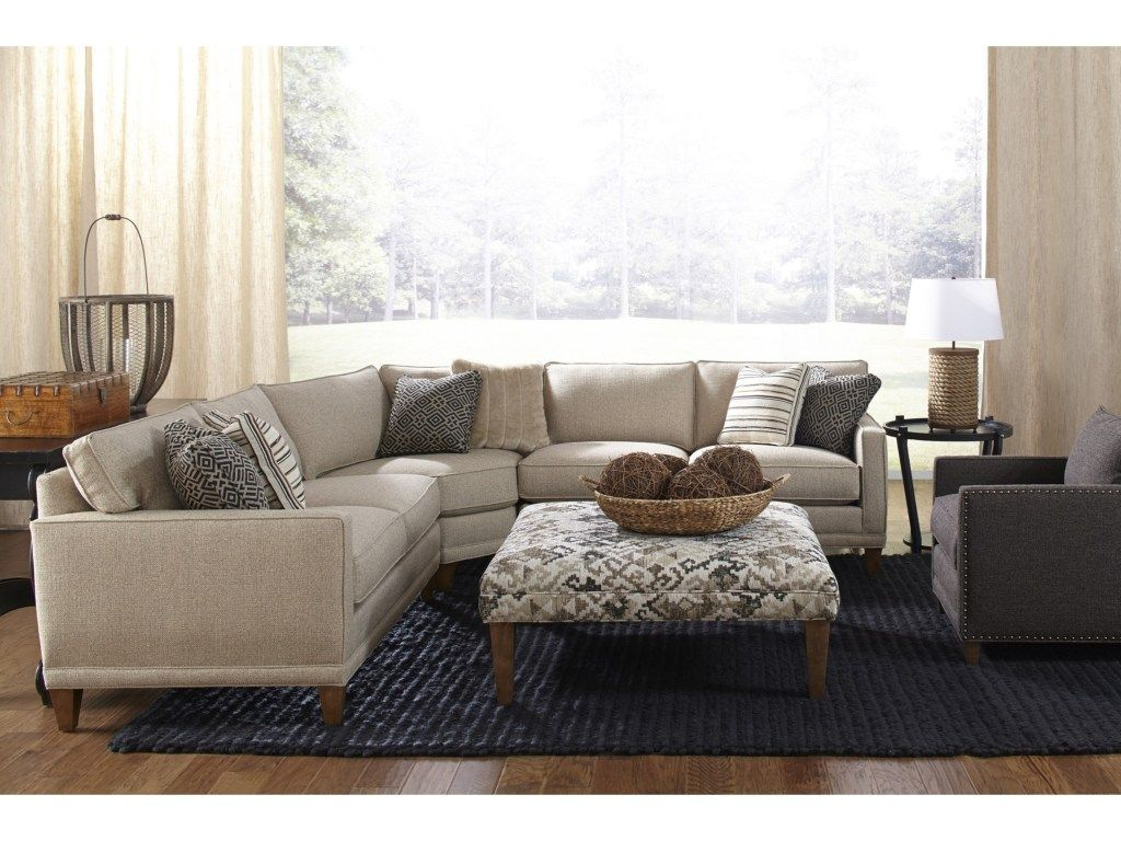 Choose this classy sectional sofa for a comfortable ...