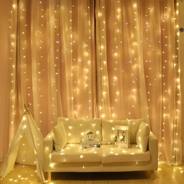 Top 10 Best Led Curtain Lights In 2020 Led Curtain Lights Garden Bedroom Curtain Lights