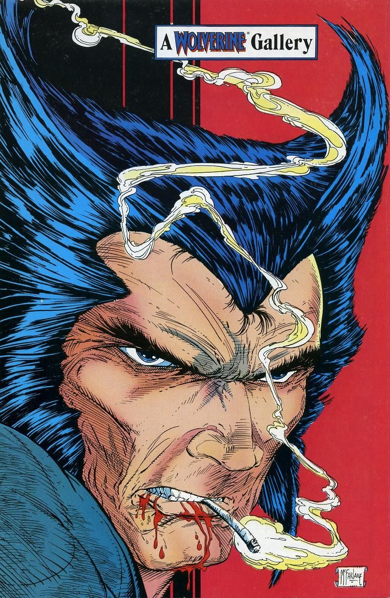 Wolverine by Todd Mcfarlane | X-Men, Marvel Comics, Super Heroes, #Xmen