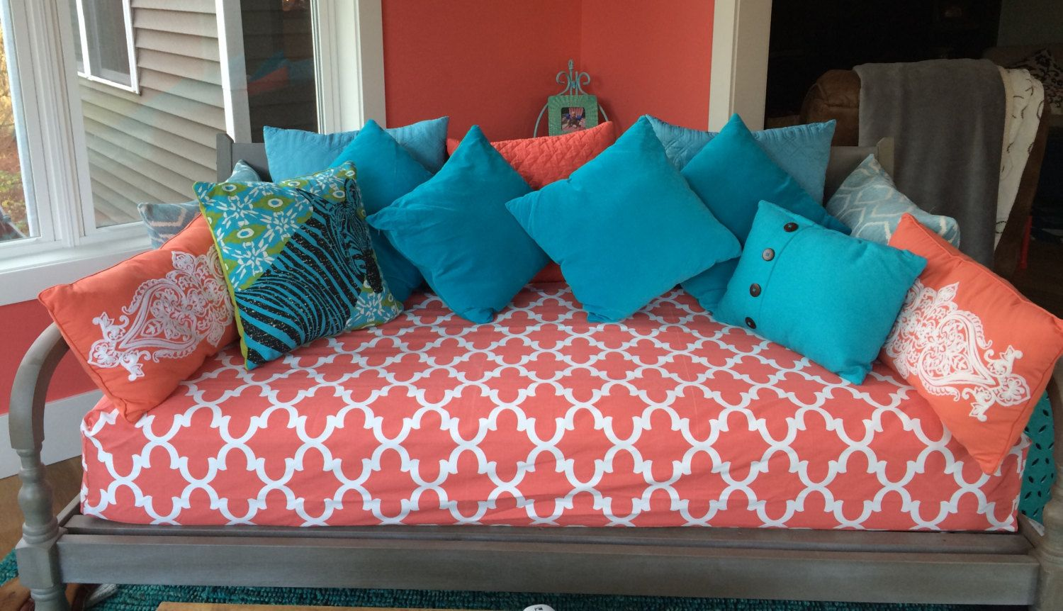Fitted Daybed cover in twin, twin xl, or full, mattress ...