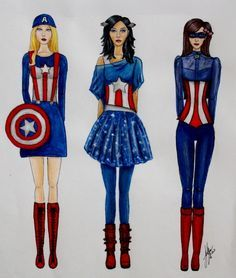capitan america costumes diy - Buscar con Google  sc 1 st  Pinterest : superhero easy costume ideas  - Germanpascual.Com