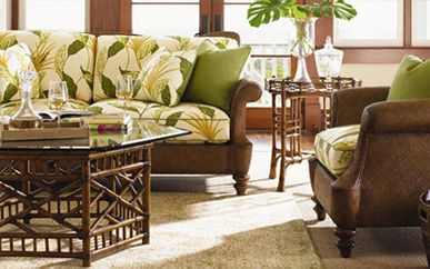 Tommy Bahama Home Living Room Furniture Island Tropical Home