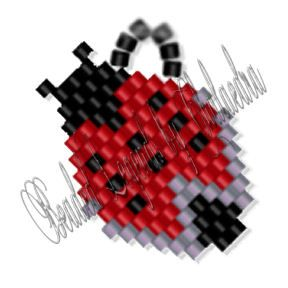 Ladybug Earrings, Sova Enterprises