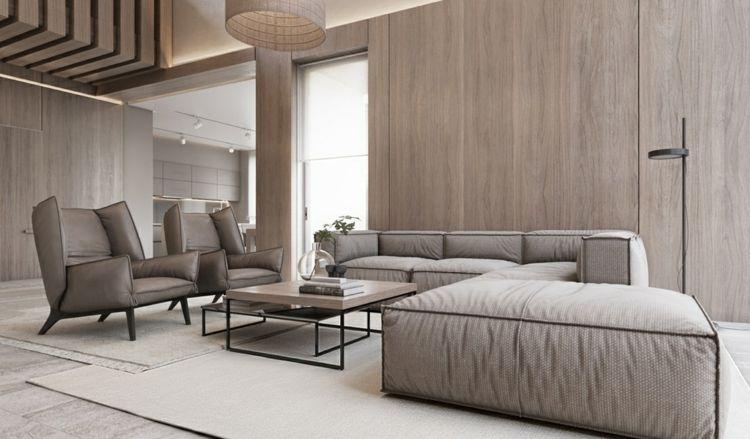 Warmes Wohnzimmer gestalten in Beige | Wohnideen Wohnzimmer ...