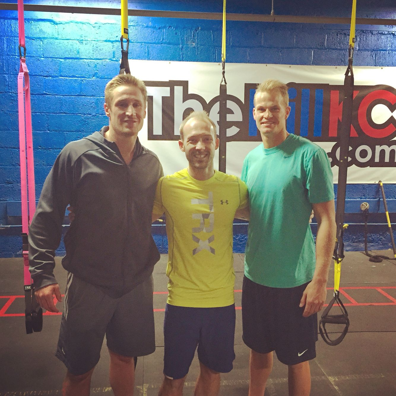 Sporting KC's Tim Melia and Jon Kenpin #EarningTheirBetter at CORE Strong Fitness
