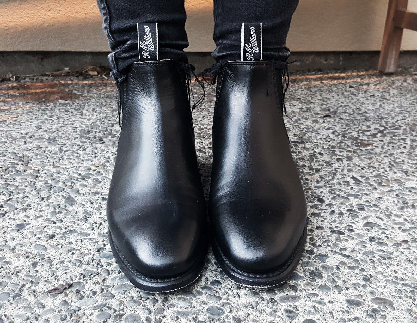 R.M Williams Adelaide Boots - Australian Outback Fashion