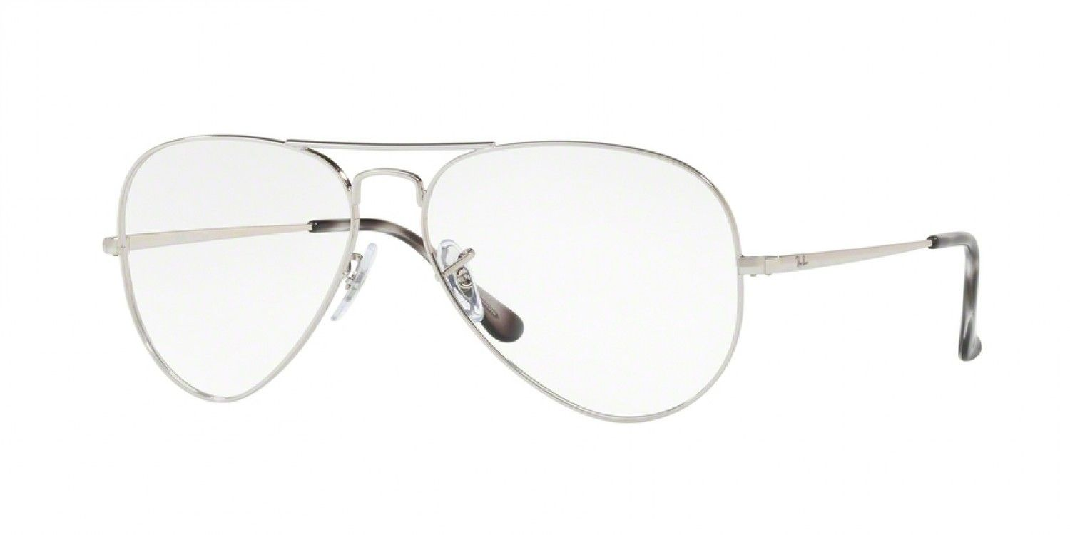 d4622d29592 Ray-Ban RB6489 55 Eyesize - Silver - Three-Four View