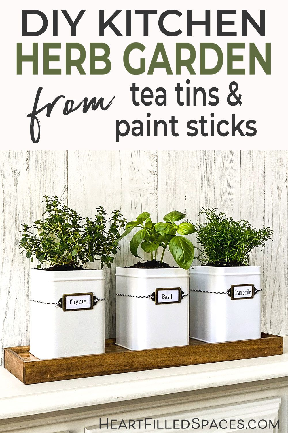 How To Make A DIY Indoor Herb Garden Kit For Your Kitchen Window ...
