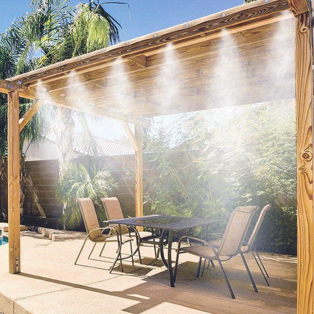 patio mister home misting pergolas for the system patios pinterest