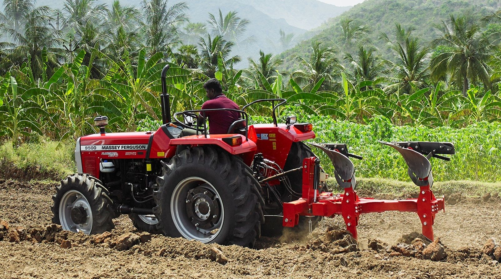 If a perfectly tilled land for your crops is what you are