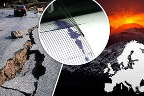 huge earthquake volcanic eruption seismic activity Europe