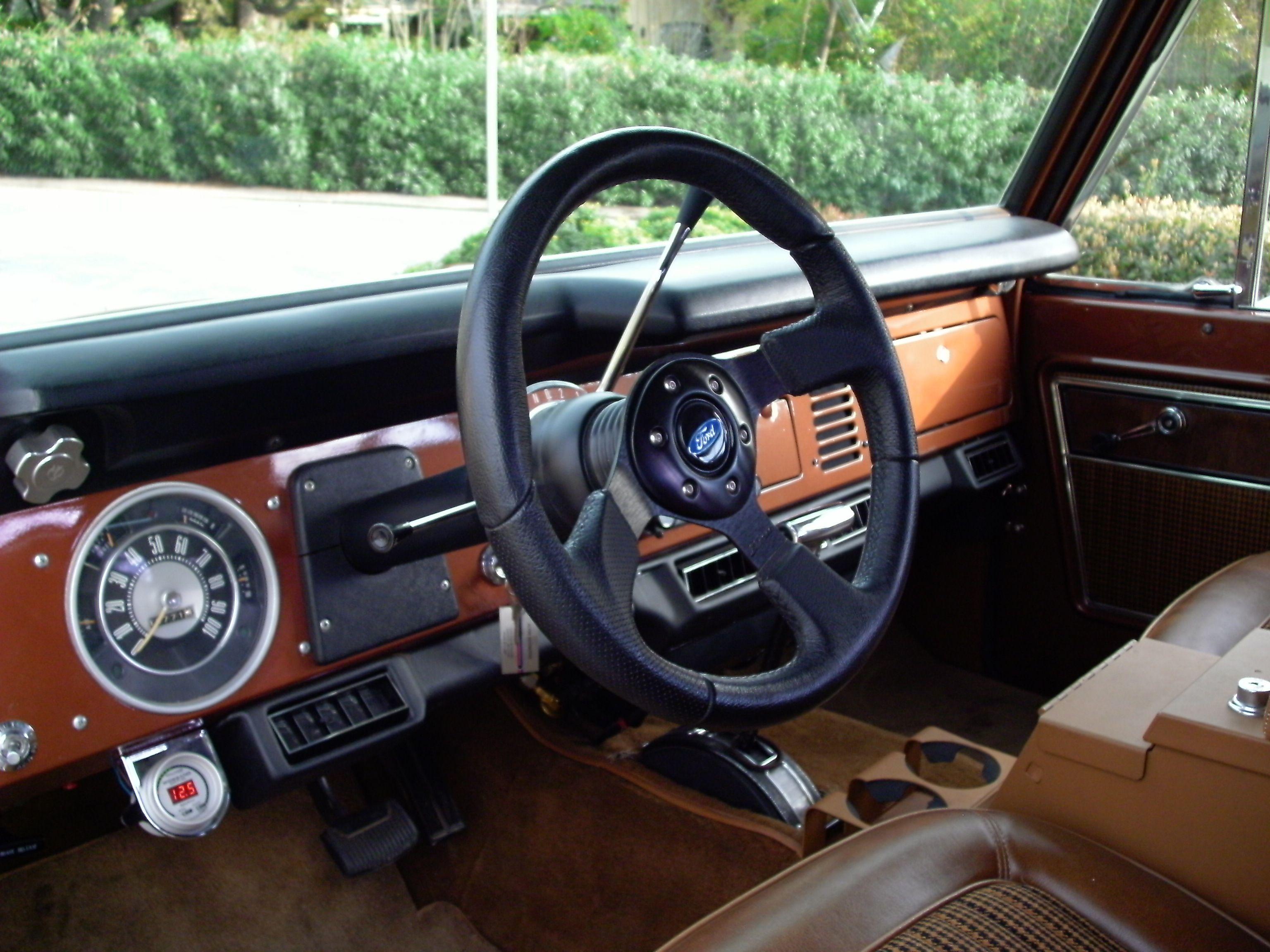 1972 Ford Bronco Interior Google Search Ford Bronco