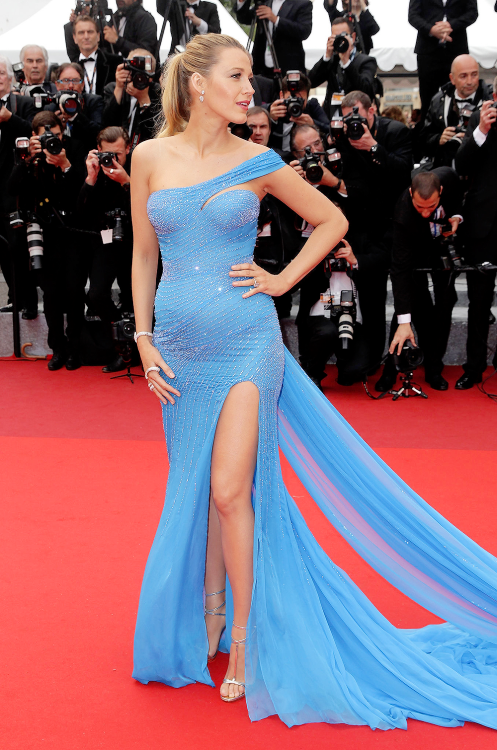 """ ""Blake Lively attends the 69th Annual Cannes Film Festival on May 14, 2016. "" """