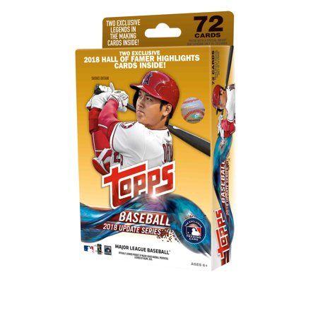 2018 Topps Updates Baseball Walmart Hanger Pack Trading Cards