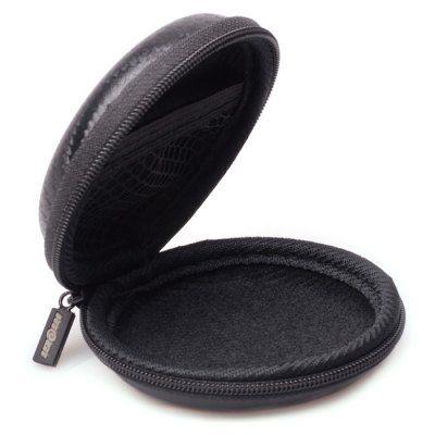 Hoy con el 58% de descuento. Llévalo por solo $11,900.HieGi auriculares Caja de almacenamiento Modelo circular auriculares bolsa.