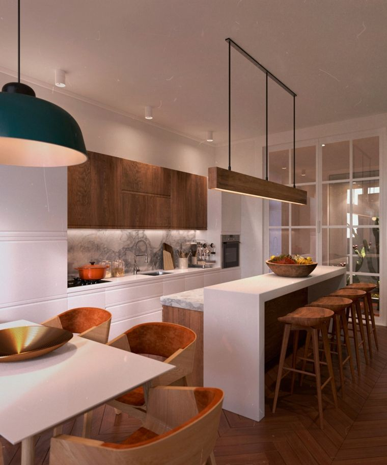 Pisos modernos decorados de forma muy elegante espacios pinterest - Fotos de pisos decorados ...